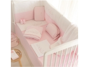 Colcha y Protector Nuit Rosa